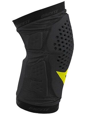 Dainese Black - Yellow 2016 Trail Skins Pair of MTB Knee Guard
