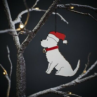 Westie Christmas Decoration West Highland Terrier xmas gift
