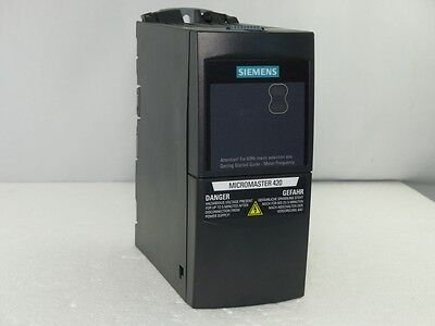 SIEMENS MICROMASTER 420 0.37kW 6SE6420-2AB13-7AA1 E-Stand: F02 (4845)