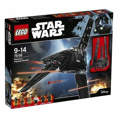 Lego Star Wars 75156 Krennic's Imperial Shuttle Rogue One Nuovo