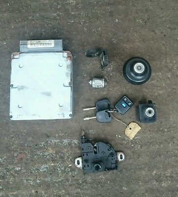 00-06 Ford Transit Mk6 2.4 Tddi 90 Bhp Ecu Kit 2 Keys + Remote Yc1A-12A650-Ea