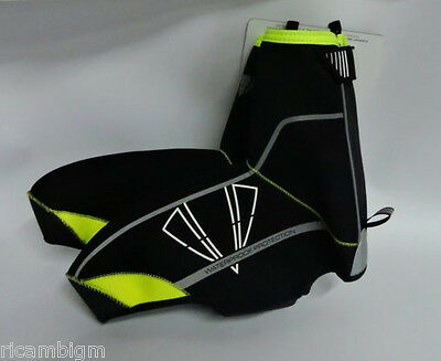 DMT Diamante Copriscarpa Winter 01 Neoprene MTB Black Yellow Fluo