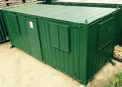 21ft Anti Vandal Office / Canteen Container