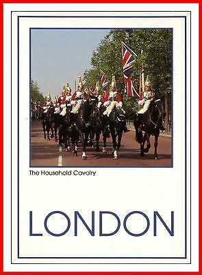 Life Guards - Household Cavalry Regiment - In The Mall London Postcard