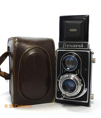 Meopta Flexaret Ii Tlr Camera With 80Mm F3.5 Lens Excellent Condition
