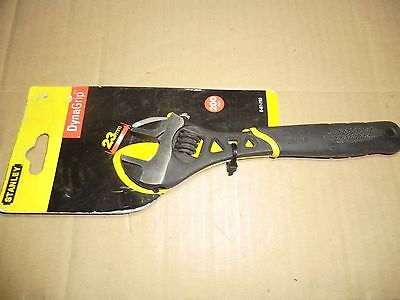 """Stanley Dynogrip 8"""" 200 Mm Adjustable Wrench New"""