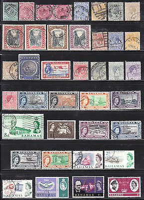 Nice Bahamas Used Stamp Lot/94, F-Vf, High Values Included