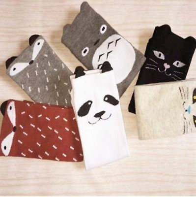 Knee High Baby Socks Girls Boys Fall Toddler Warmers Fox Socks Knee Pad TKGC005
