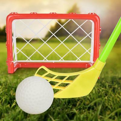 Mini Hockey Goal Hockey Ball Toy Set Kids Childs Outdoor Ball Game Toy Gift