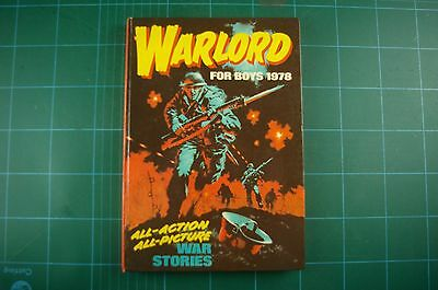 Warlord for Boys Annual 1978 - DC Thomson: HB VGC