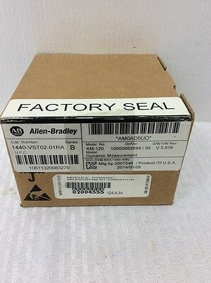 NEW Allen Bradley 1440-VST02-01RA /B Dynamic Measurement XM-120 ENTEK