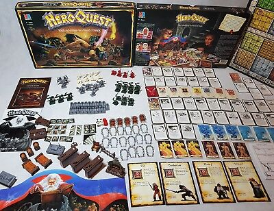 HeroQuest board game - mint condition unpainted complete Hero Quest [ENG, 1989]