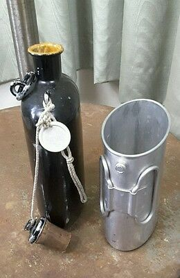 Vintage 1966 Swiss Army Water Canteen & Cup