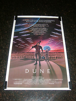 "DUNE Original 1984 Movie Poster, 27"" x 41"", Rolled, C8.5 Very Fine to Near Mint"