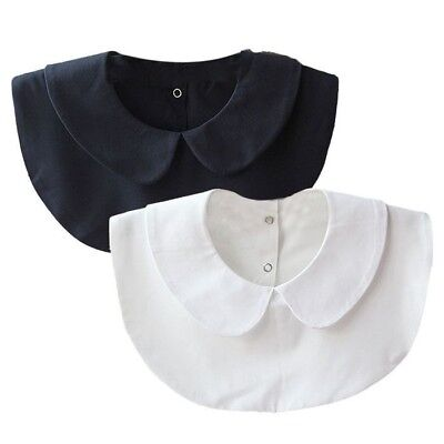 Women Turtle Neck Chiffon Fake Shirt Collar Fashion Necklace Choker Collars