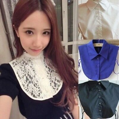 Cheap&High Quality Styles Women Lapel Fake False Collar Detachable Collar