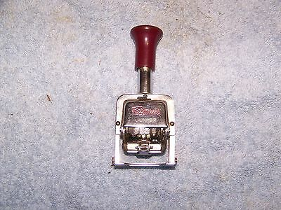 Faymus  Vintage Junior Automatic numbering machine