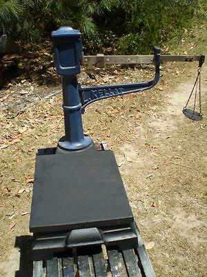 VINTAGE salter  Kellar Platform scale 100gr up to 5kg Collectable cast iron