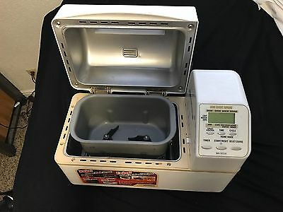 Mint Condition Zojirushi BB-CEC20 Home Bakery Supreme 2lb Loaf Breadmaker