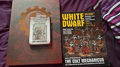 Warhammer 40k Cult Mechanicus Limited edition codex with extras