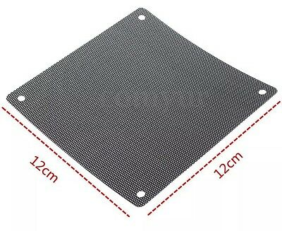 120mm Dust proof Case Fan Dust Filter Guard Protector Cover Mesh PC UK Dispatch