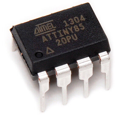 5 Pcs Attiny85-20Pu Attiny85 Mcu 8Bit 8Kb Microcontroller - Shipped From Usa
