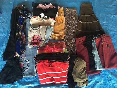 23 Pc Girl Children's Kids Junior Mixed Clothing Lot Size 11 & 12 Years