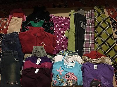 23 Pc Girl Children's Kids Mixed Clothing Lot Size 6 & 7 Years