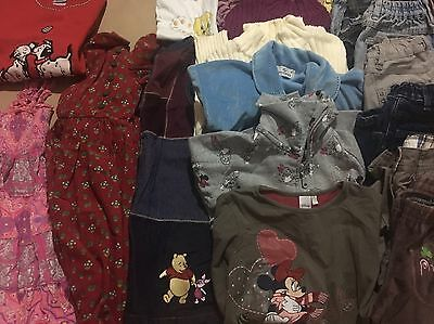 21 Pc Girl Children's Kids Mixed Clothing Lot Size 5/6 Years