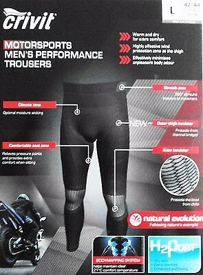 Crivit Sports Men's thermal under base leyer  Motorcycle Trousers  SIZE XXL