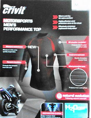 Crivit  Men's thermal under base leyer Motorcycle SET Top+Trousers SIZE XXL