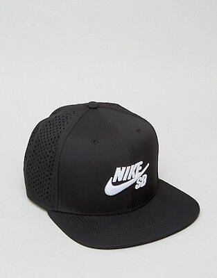 Nike SB Cap Performance Trucker Black New Skateboard Snapback Hat