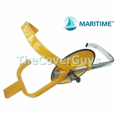 Wheel Clamp Lock Security for Car, Boat, Trailer FREE SHIPPING