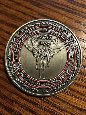 U.S. Special Forces SOCOM ODA 3234 Archangel Coin