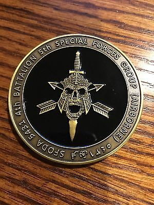 U.S. Special Forces SOCOM ODA 5431 Coin