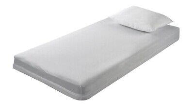 Mattress Protector-Fitted 190cm x 120cm Beds Vinyl 0.08 mm Thick, Washable, 1pc