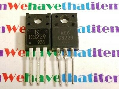 2SC3229 / C3229 / TRANSISTOR / TO220 / 2 PIECES (qzty)