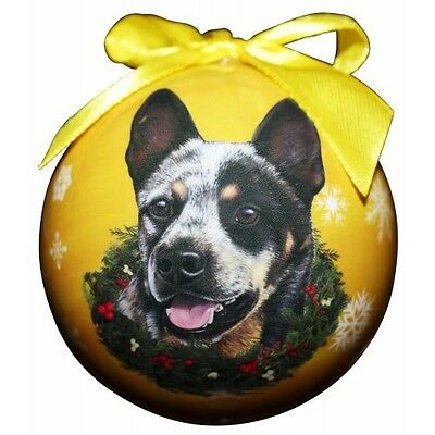 Australian Cattle Dog Shatterproof Ball Dog Christmas Ornament