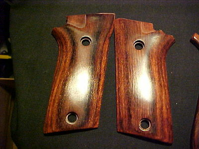 Taurus PT 940 PT 911 Rosewood Fine Auto Pistol Grips Fancy Polished Smooth ++