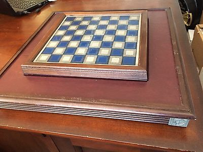 Vintage Franklin Mint U.S. Civil War Chess Board and Game Table