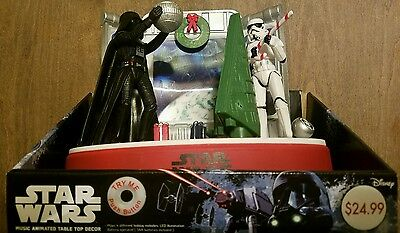Star Wars Music Animated Table Top Decor Batteries Included Brand New In Box