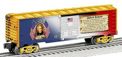 Lionel Presidential Boxcar Andrew Jackson Made in USA New in Box 6-81488