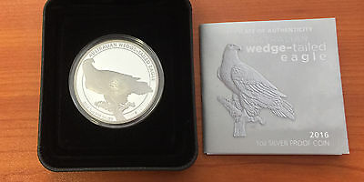 2016 1 oz Australian Wedge Tailed Eagle Silver Proof Coin 99.9 (Perth Mint)