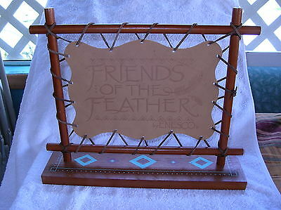 F/F/F Leather Wood sign Collectible Display RARE N/I/B 10% Has been taken OFF