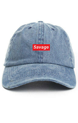 5d760f877bf SAVAGE SUPREME CUSTOM Unstructured Pink Dad Hat Cap New -  14.99 ...