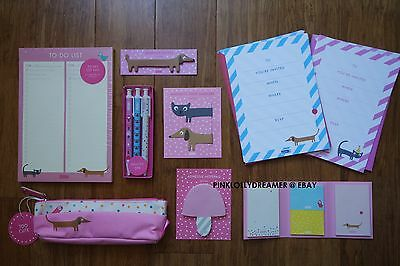 Kikki K TOO CUTE stationery NEW pencil case page markers pens adhesive notes