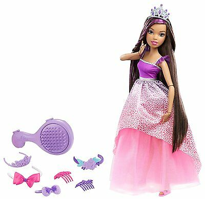 "Barbie Dreamtopia Endless Hair Kingdom 17"" Doll - Brunette"