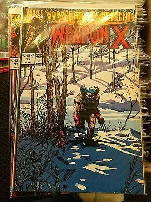 Marvel Comics Presents 77-80 NM Wolverine Weapon X BWS Barry Windsor Smith CHEAP