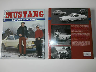 livre voiture MUSTANG  johnny hallyday claude francois dick rivers SHEILA NEUF