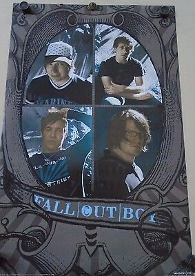 """MUSIC POSTER~Fall Out Boy Under the Cork Tree 2005 23x35"""" Original OOP Group~NOS"""